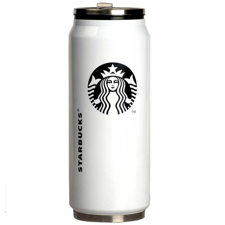 스타벅스 맥주 텀블러-화이트, 화이트, 350ml