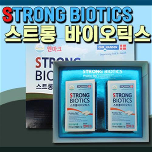[조아제약] 스트롱 바이오틱스 60캡슐/덴마크 유산균