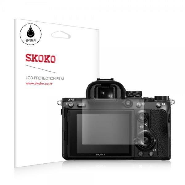 소니 A7 3 올레포빅 카메라 액정보호필름 2매-스코코[무료배송], 상세 설명 참조