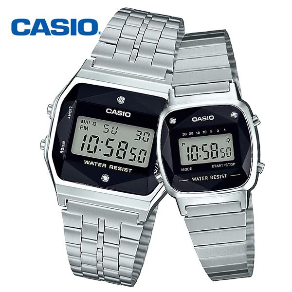 [정품] CASIO 카시오 A159WAD LA670WAD 다이아몬드 커플시계 택1
