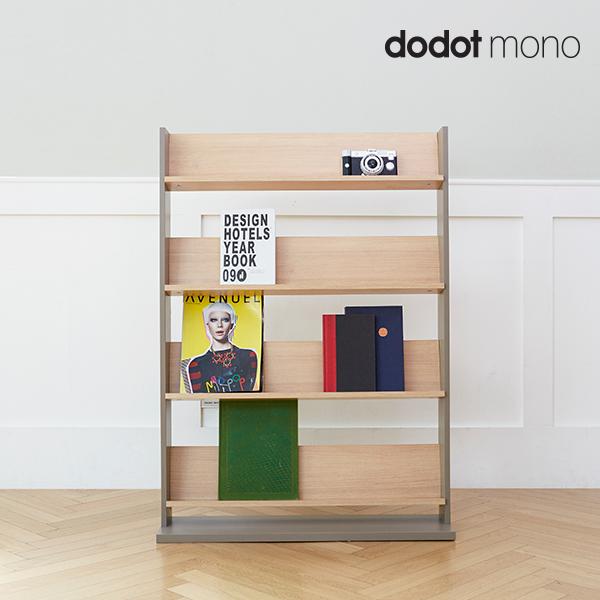 [두닷모노] 그란 800 전면책장, 라이트오크+마일드그레이