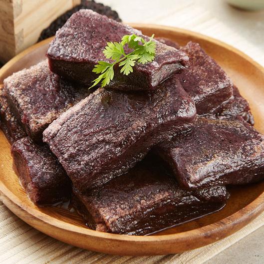 갓지은푸드 영양간식 구워먹는떡, 1봉, 맛있는 흑미찰떡