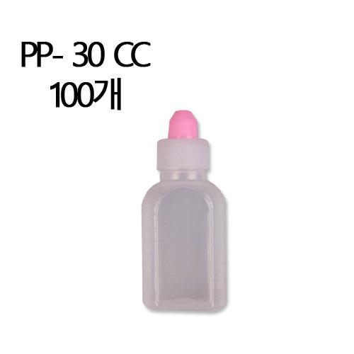남양플라스틱 PP재질 반투명 30CC 투약병, 100개 (POP 5756202)