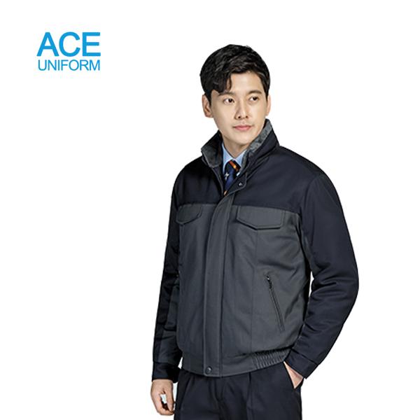 그린사몰 겨울작업복 방한복 작업복점퍼 근무복 유니폼 ACE-705