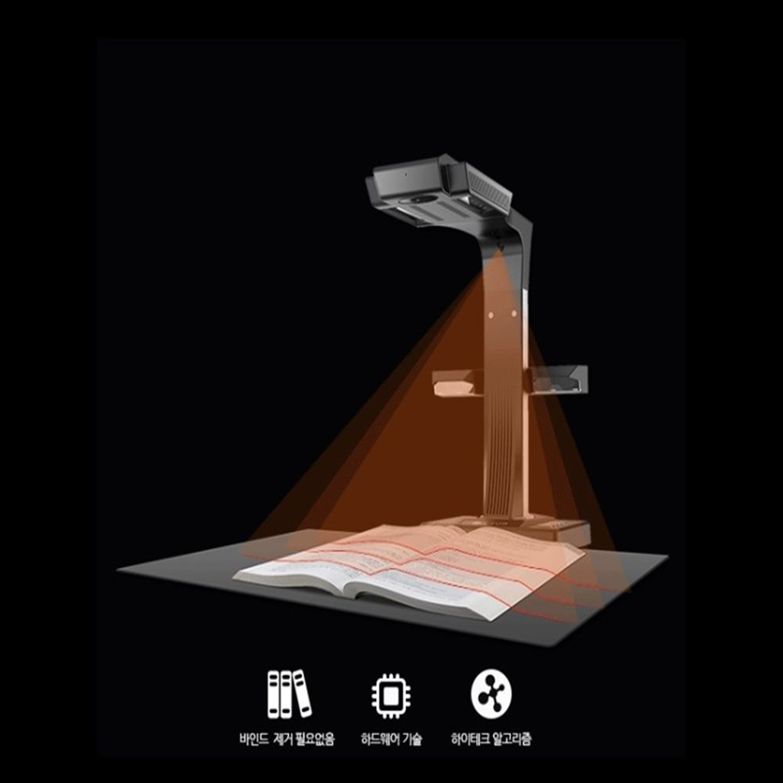 CZUR 스캐너 ET16Plus 북스캐너(OCR지원)