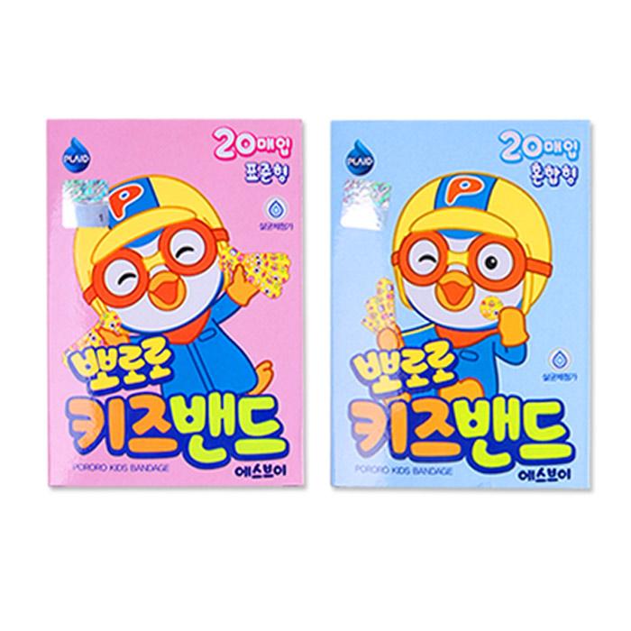 뽀로로 키즈밴드 혼합 10갑, 1개