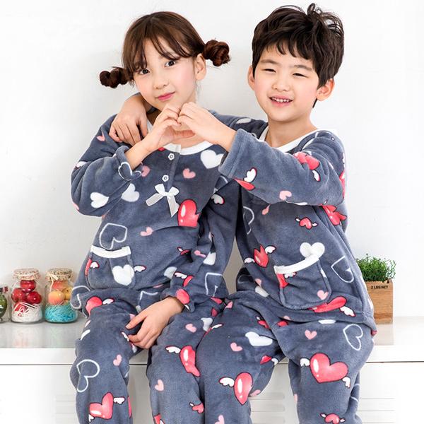 이라인 천사날개 아동 수면잠옷(주니어 잠옷)