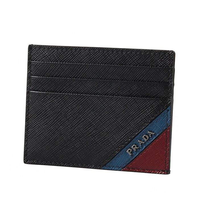 프라다 2MC223 2EGO F0XW7 사피아노 블랙 카드지갑