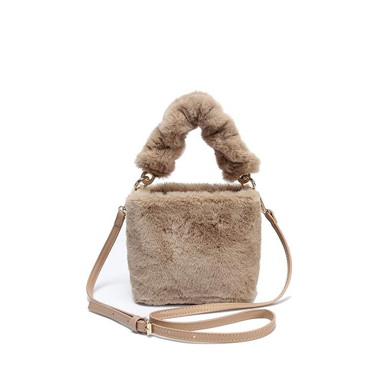 겨울가방 버킷 백 털가방 숄더백 핸드백