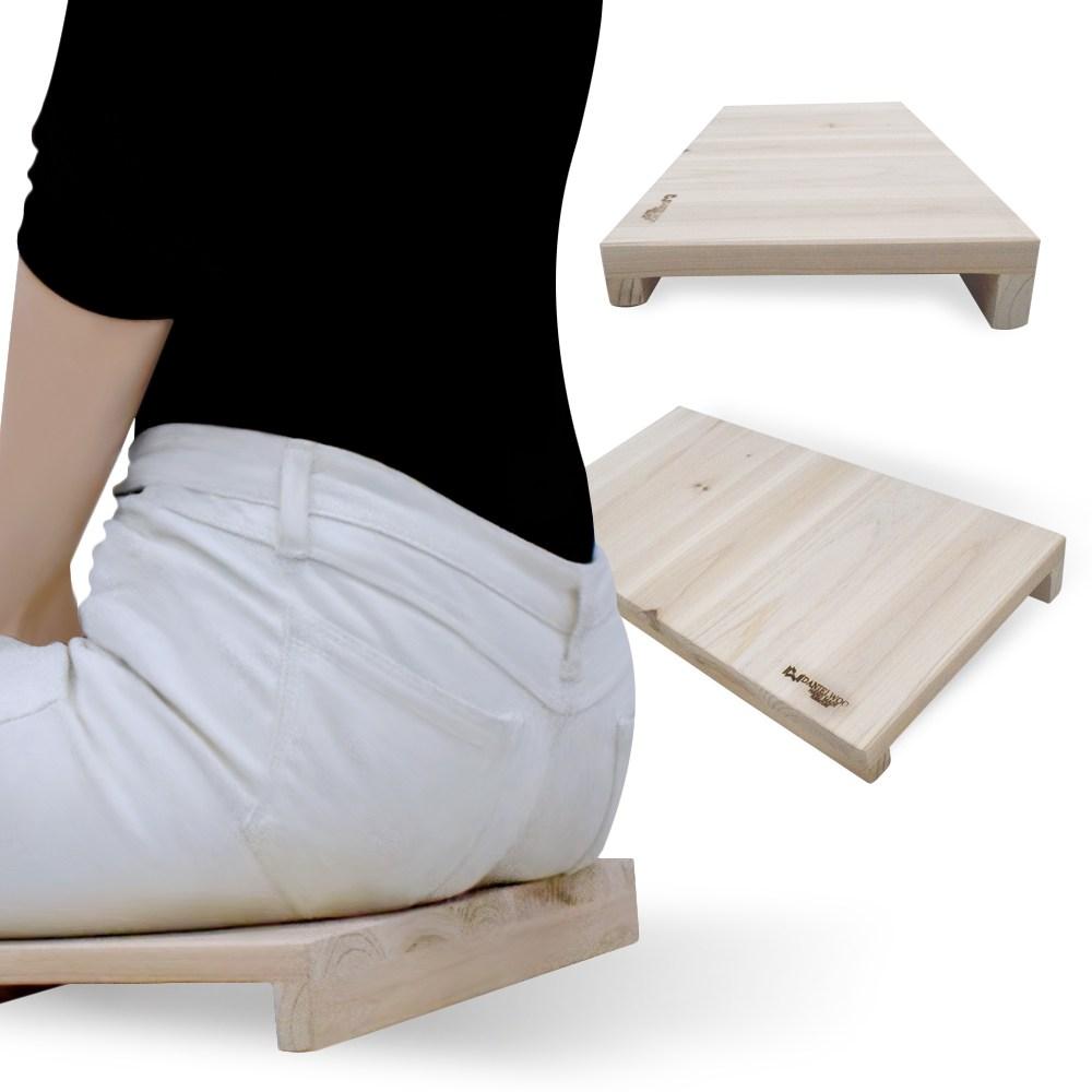 다니엘우드 다이어트방석 척추 바른자세 좌식의자 기도의자 자세교정방석 경사방석