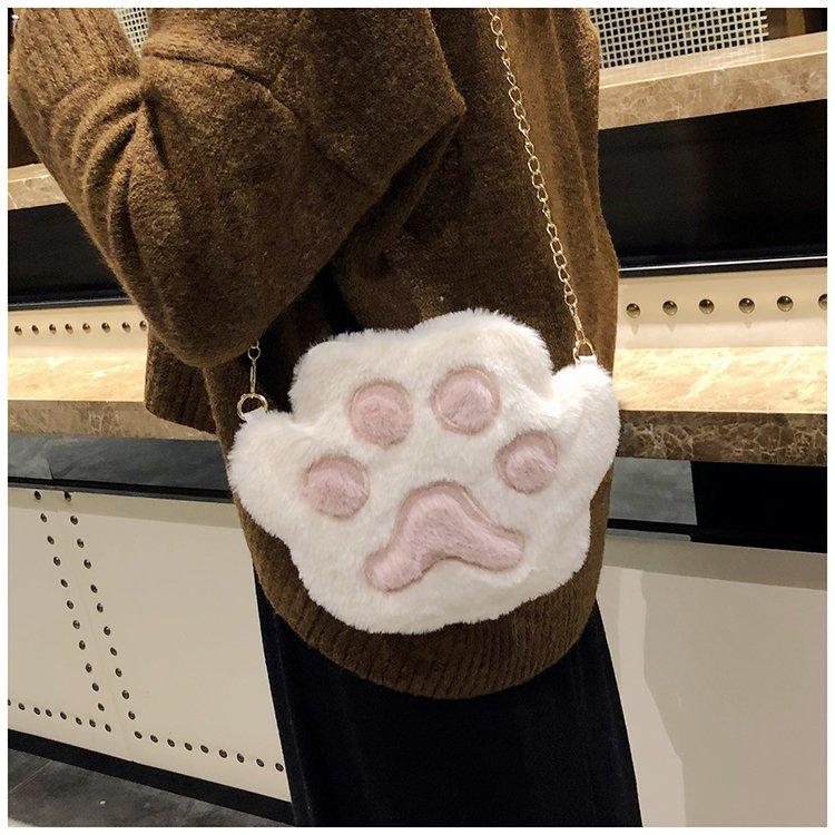 [스텔라] 여성겨울가방 귀여운 퍼가방 털가방 숄더백 크로스백 클러치백 패션가방Q02