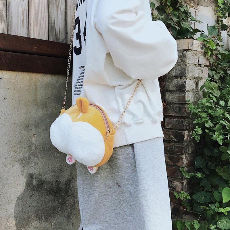 [스텔라] 여성겨울가방 귀여운 퍼가방 털가방 숄더백 크로스백 클러치백 패션가방Q21