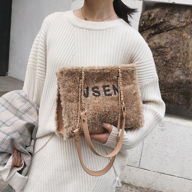 [스텔라] 여성겨울가방 귀여운 퍼가방 털가방 숄더백 크로스백 클러치백 패션가방Q14