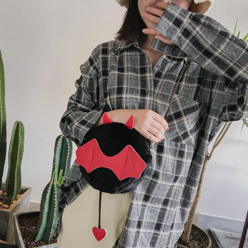 [스텔라] 여성겨울가방 귀여운 퍼가방 털가방 숄더백 크로스백 클러치백 패션가방Q20