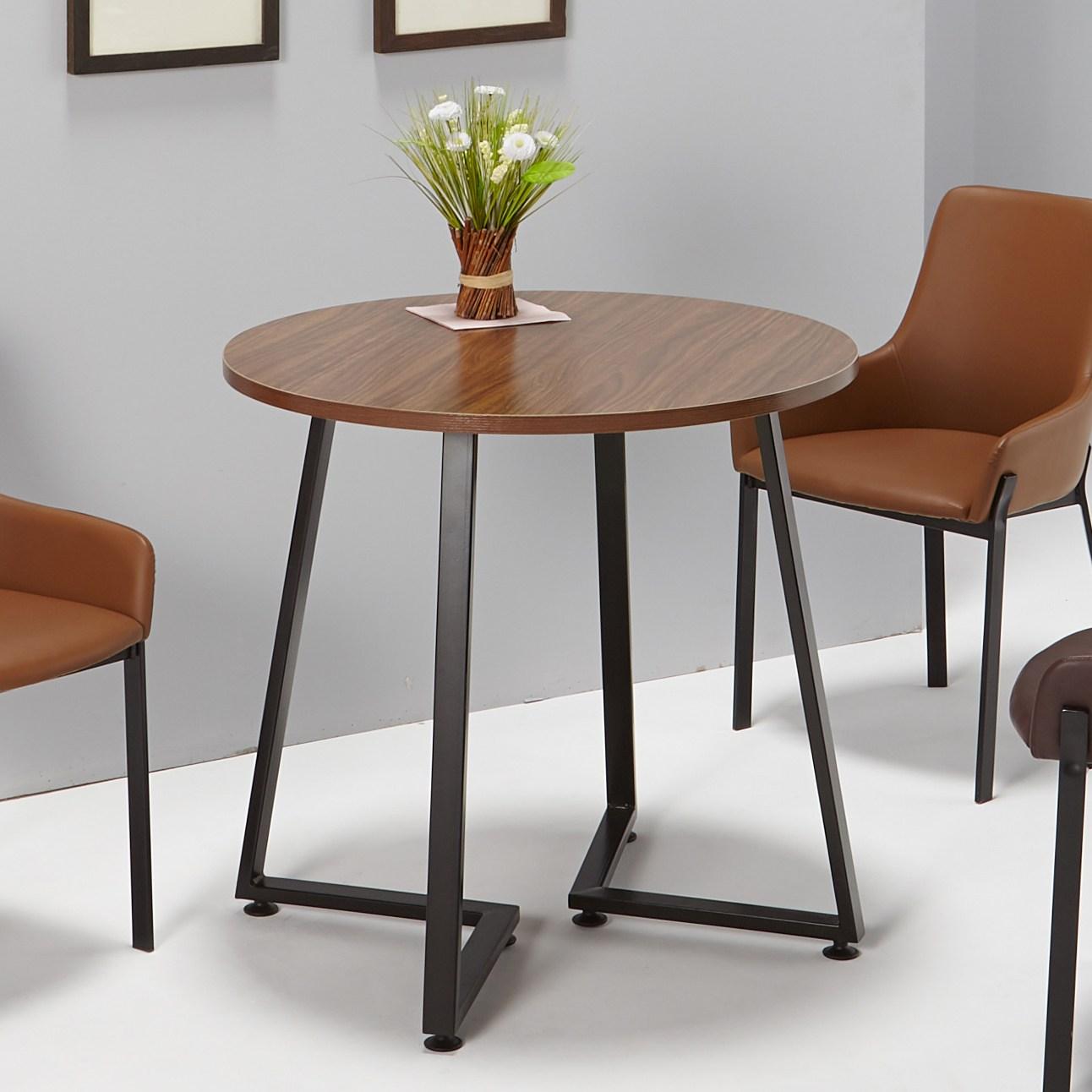 퍼니츠 테이블모음전 600 700 800 테이블 카페테이블 부부테이블 식탁, 800 쥬퐁 월넛