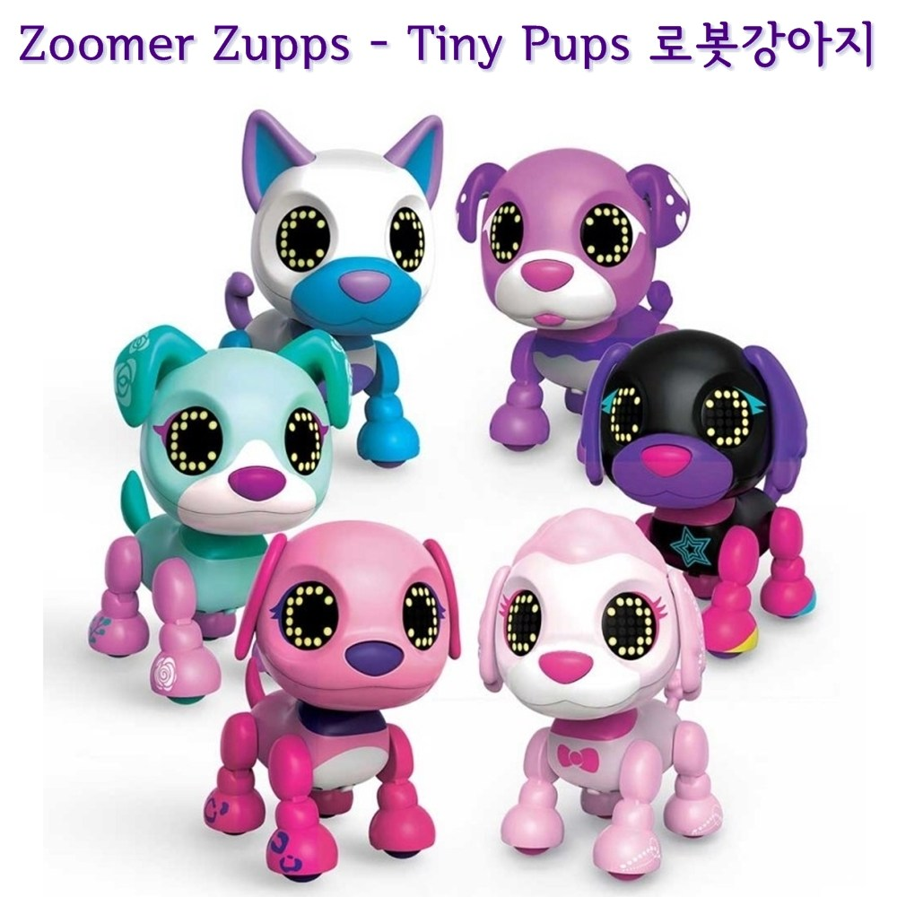 줌머 줍스 - Tiny Pups 로봇강아지 인공지능, Poodle Lollipop