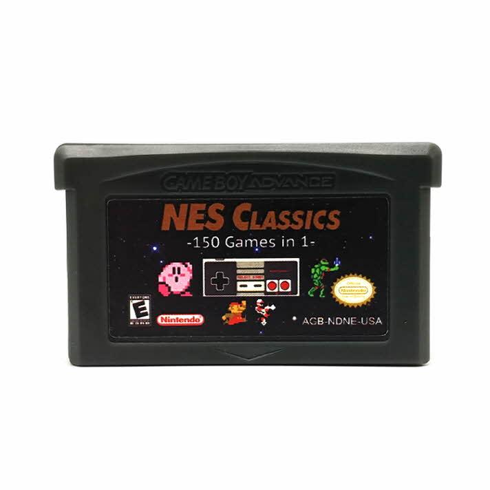 닌텐도 GBA NES 150합팩 게임보이 어드밴스, 1개