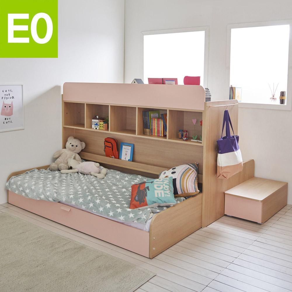 마이홈 벙커침대 슬라이드 침대+책상 기본세트, 그레이