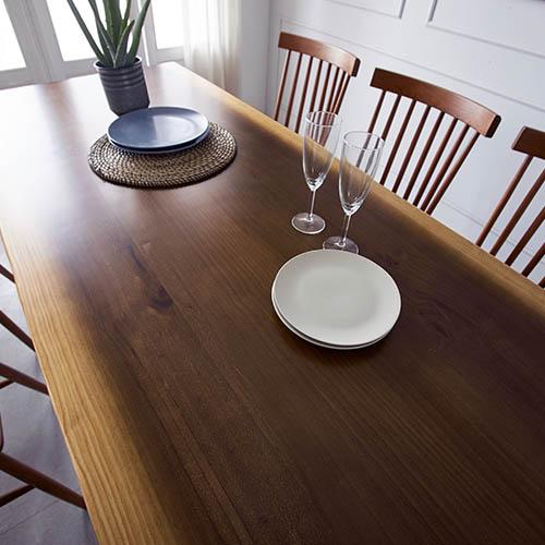루온퍼니처 피노 우드슬랩 통원목 식탁 원목 테이블, 2000mm_네추럴투톤
