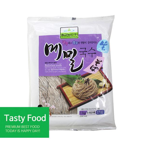 칠갑농산 (냉장)생메밀국수1kg, 99999개
