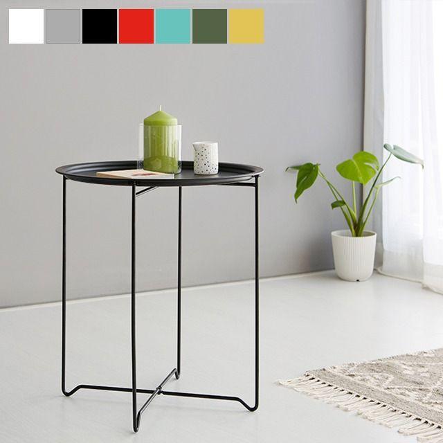 마켓비 IVO 460 커피테이블, 화이트