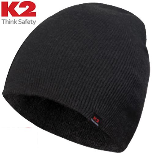 K2 정품 니트 비니, 블랙(검정)