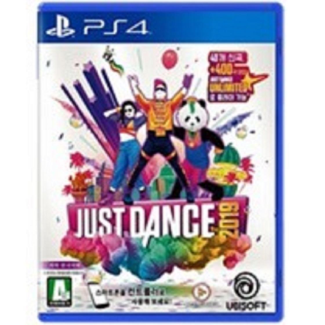 PS4 저스트댄스 2019 (PS4) 한글판 새제품