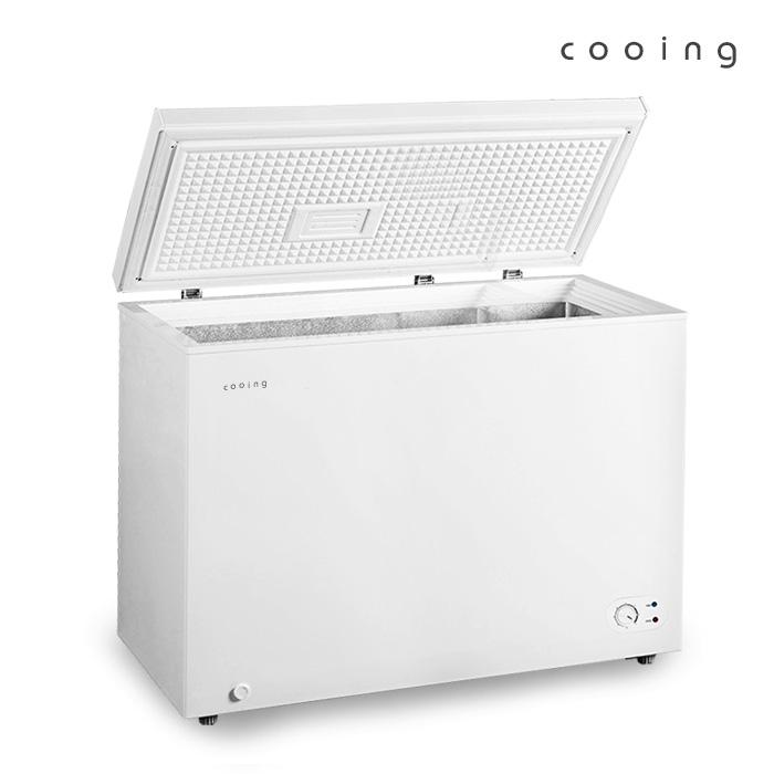 쿠잉 [쿠잉] 소형 미니 195L 냉동고 쾌속형 다목적 FR-300CW