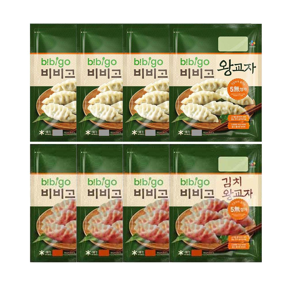 (냉동)비비고 왕교자350gx4봉+김치왕교자350gx4봉, 1세트