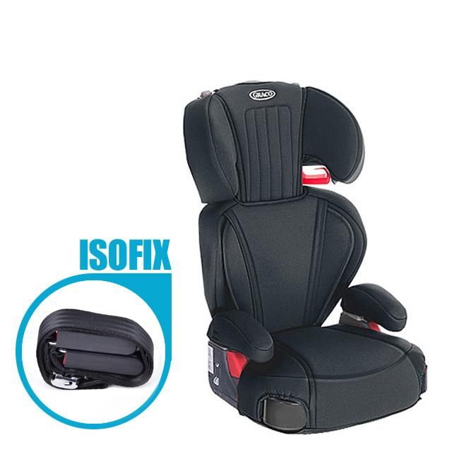그라코 로지코LX 주니어 휴대용 카시트, 로지코LX/블랙+ISOFIX