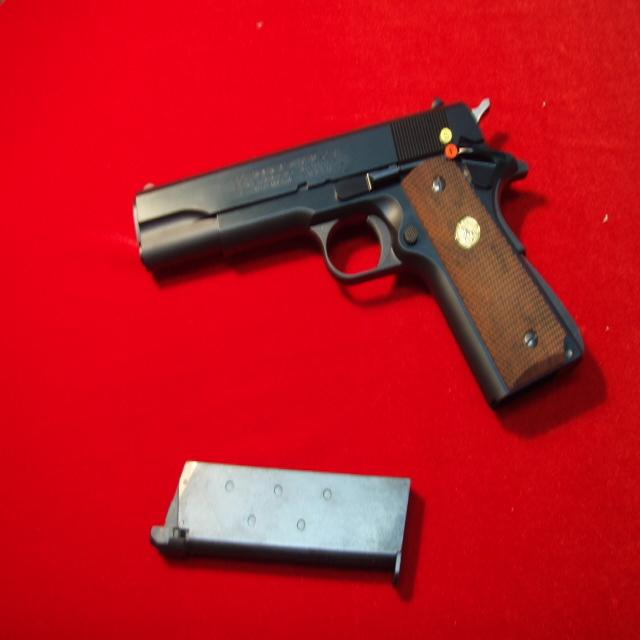 마루이 콜트 마크4 시리즈70 가스식비비탄권총, 풀셋트(기본셋트+파워가스+건케이스)