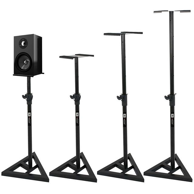 IMI 튼튼한 모니터 스피커 스탠드 받침대 거치대, 선택 2. 모니터 스피커 스탠드 - 블랙