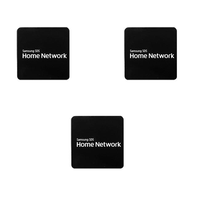 삼성 삼성SDS 디지털도어락 카드키 전자키 키태그 도어록, 삼성도어락카드키_접착형(블랙)