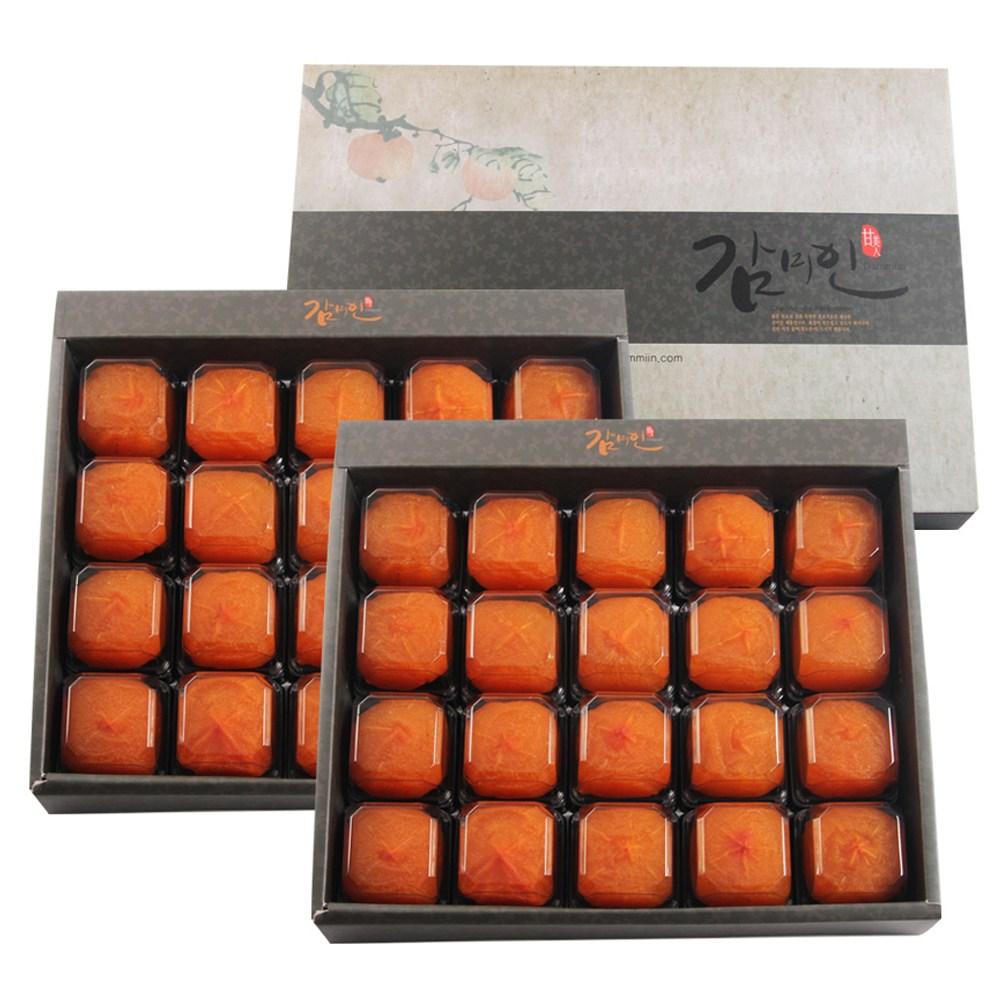 감미인 1+1 청도반건시 곶감+쇼핑백, 1set, 1+1/20과(중대과)+쇼핑백