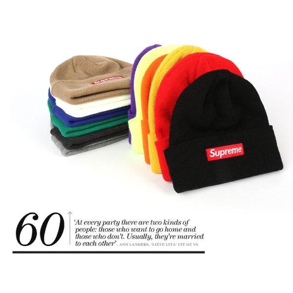 포도나무288 슈프림 비니 모자 겨울모자 성인용 패션