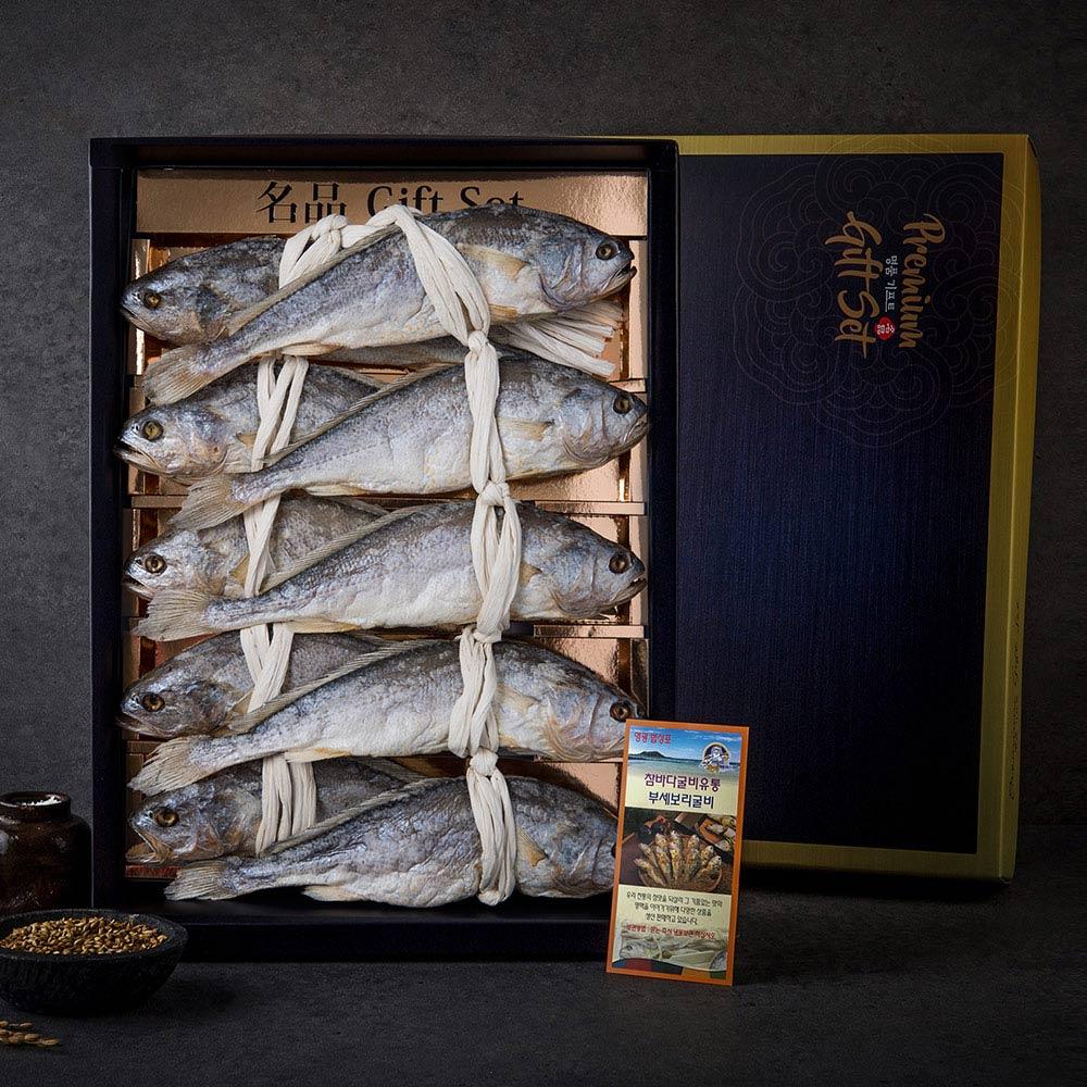 [미담] 참바다 영광 굴비 선물 세트, 1set, 마른보리 굴비 부세(대)선물용