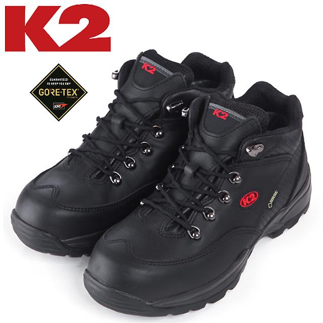 케이투 KG-33(블랙) 6인치 고어텍스안전화 케이투안전화 무지퍼