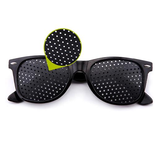 호정스토어 핀홀안경 눈근육 트레이닝 눈건강을 위한 핀홀안경, 1개
