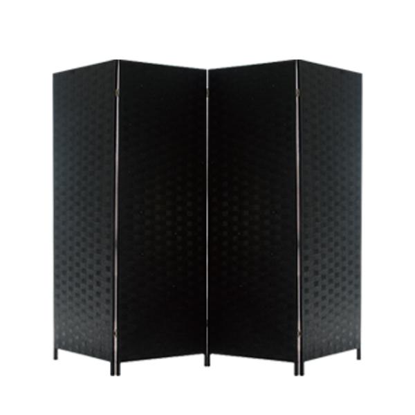 에코팩토리 파티션 칸막이 한폭50cm특대형 인테리어파티션, E-대형 올블랙[높이150넓이200]