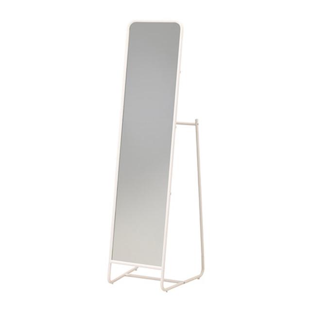 이케아 KNAPPER 전신 거울, 화이트 202.173.86