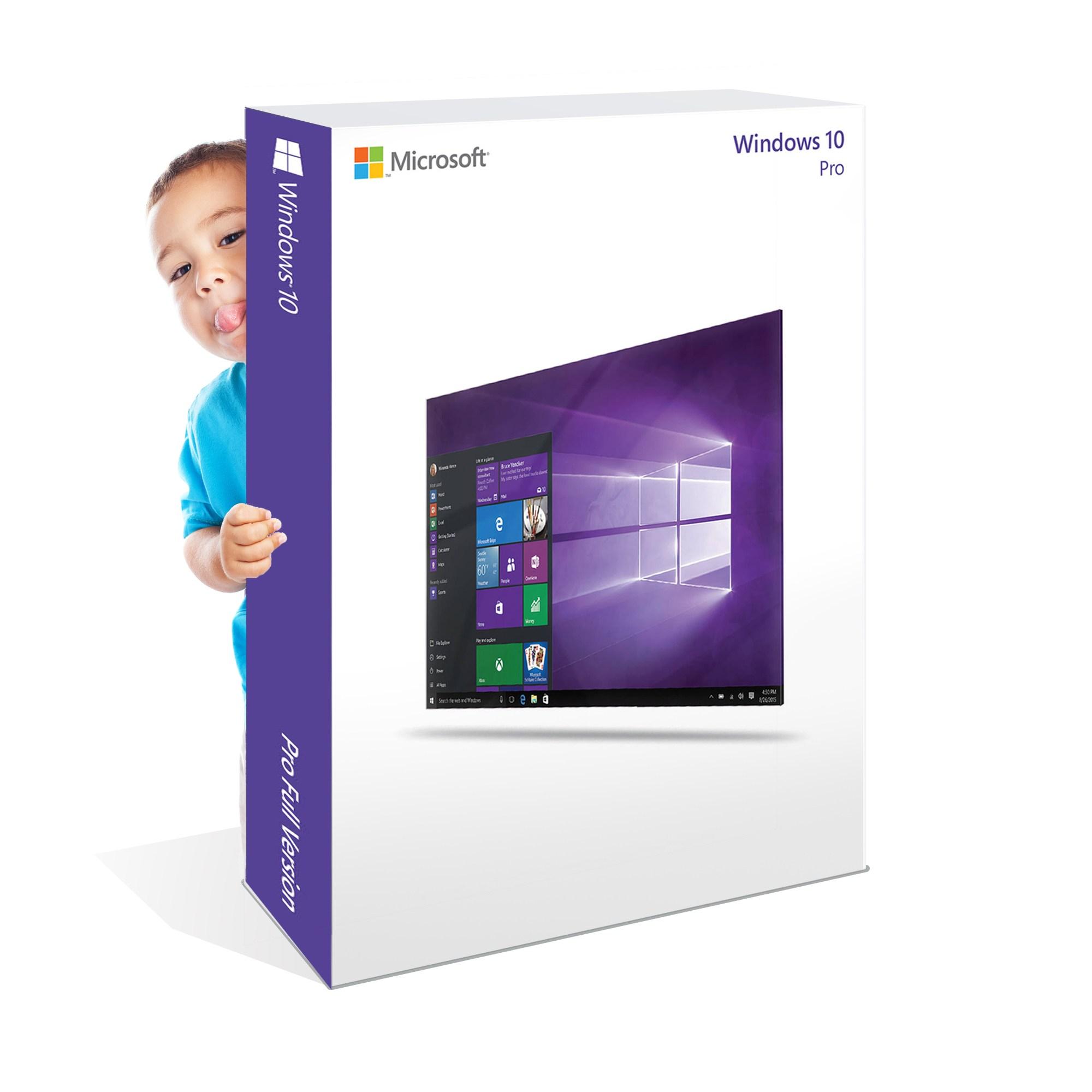 마이크로소프트 윈도우10, 윈도우10 Pro