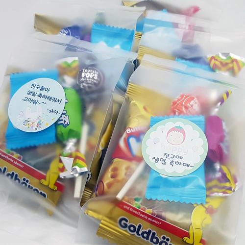 [어린이집 생일선물] 심플간식5종세트 어린이집생일답례품 과자 선물세트, 심플간식5종, 1개