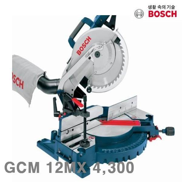 보쉬 각도절단기 GCM 12MX 4 300 2 000 305 (1EA) (POP 174849563)