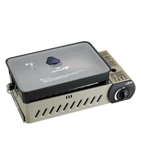 코베아 올인원M 구이바다 버너 유리뚜껑 KG-0904PEM 가스버너 휴대용가스렌지