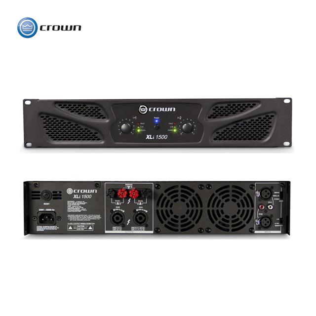 크라운 파워앰프 XLi1500 [8옴]330W x 2채널 [4옴]450W x 2채널 로우