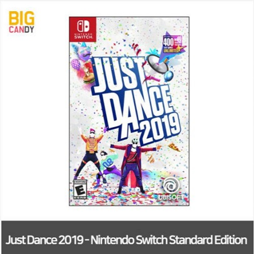 닌텐도스위치 Just Dance 2019 저스트댄스 북미판, 닌텐도스위치 Just Dance 2019 저스트댄스 2019 북미판