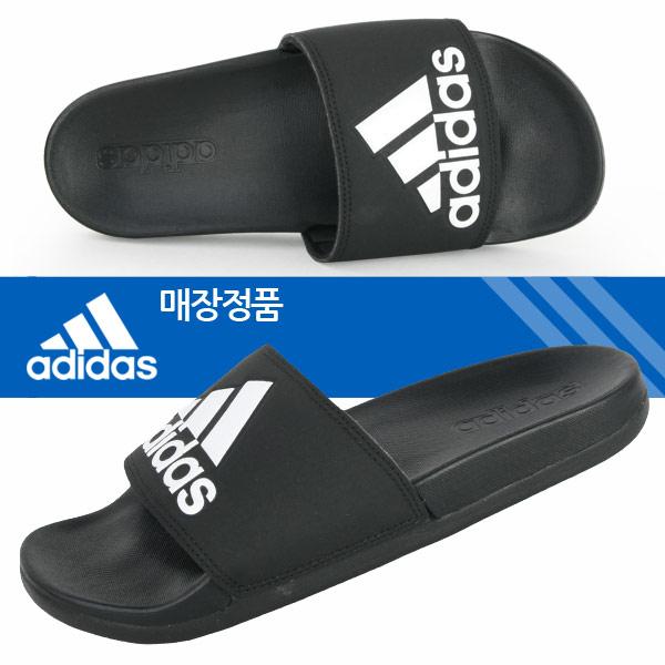아디다스 정품 아딜렛 CF슬라이드 [CG 3425] 아디다스슬리퍼 아쿠아 남녀공용