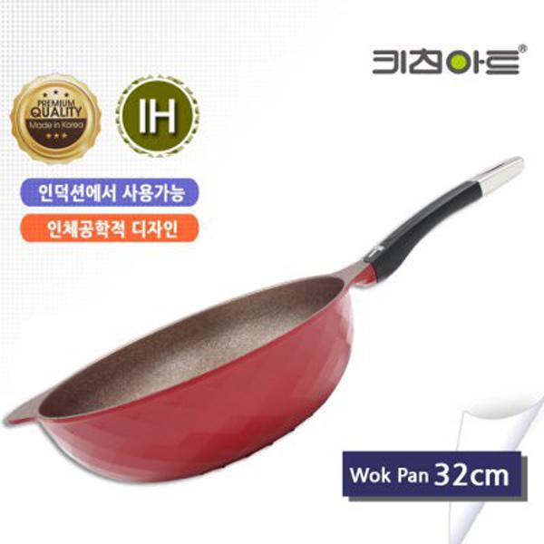 키친아트 꼬뜨 IH 인덕션 궁중팬 32cm, 단일상품