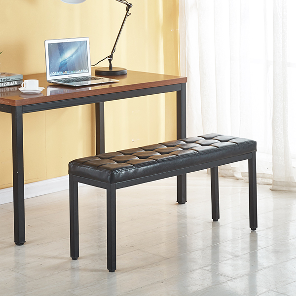와이디 피아노 쿠션 벤치 의자, 피아노벤치의자_와인(YWC2085-WI)