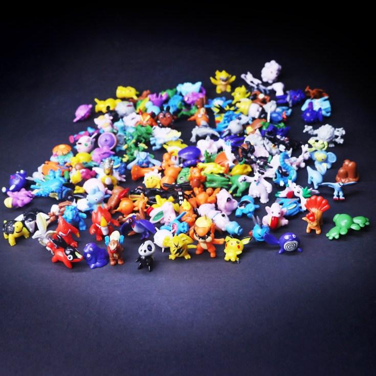 해피트리 포켓몬스터 미니 피규어세트(144pcs), 144개